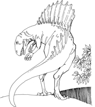 dinosaur coloring pages by yuckles. Black Bedroom Furniture Sets. Home Design Ideas