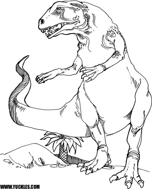 teratosaurus coloring page