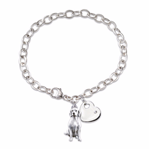 Labrador Retriever Loyal Companion Charm Bracelet