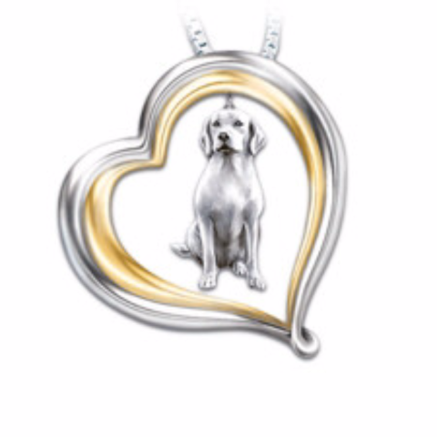 Labrador Retriever Loyal Companion Necklace
