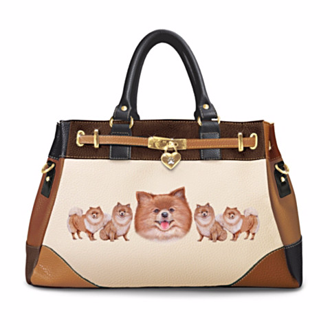 Pomeranian Fashion's Best Friend Handbag