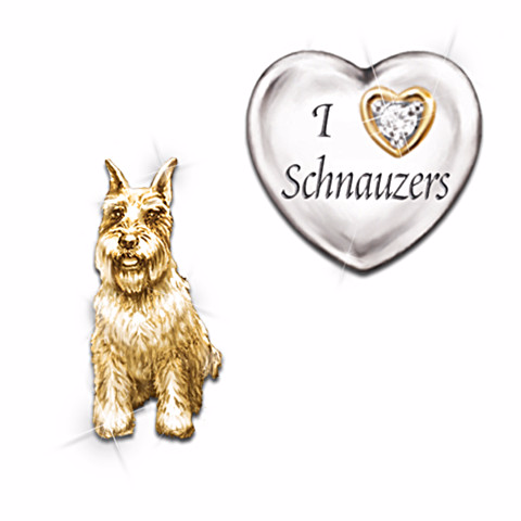 Schnauzer Gifts By Yuckles