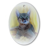Abyssinian Cat Ornaments
