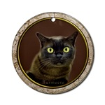 Burmese Cat Ornaments