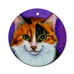 Calico Cat Ornaments