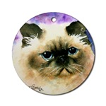 Himalayan Cat Ornaments