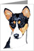 Basenji Greeting Cards