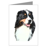 Bernese Mountain Dog Greeting Cards