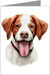 Brittany Spaniel Greeting Cards