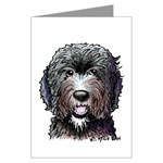Labradoodle Greeting Cards
