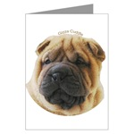 Chinese Shar-Pei Greeting Cards
