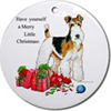 Fox Terrier Ornaments