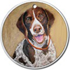 German Shorthaired Pointer Ornaments