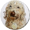 Goldendoodle Ornaments