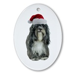 Tibetan Terrier Ornaments
